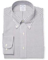 Brooks Brothers - Checker Shirt - Lyst