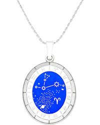 ALEX AND ANI - Celestial Aries Wheel Expandable Necklace - Lyst