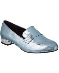 Kenneth Cole Reaction - Jet Behind Leather Loafer, 7 - Lyst