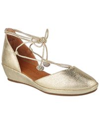 Gentle Souls - Nerissa Leather Wedge - Lyst