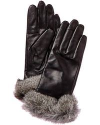 Surell - Leather Glove - Lyst