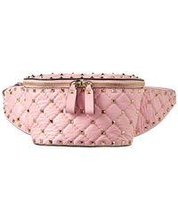 Valentino - Rockstud Leather Belt Bag - Lyst