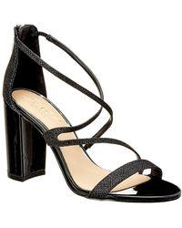 Badgley Mischka - Gale Leather Sandal - Lyst
