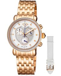 Gv2 - Marsala Diamond Watch With Interchangeable Strap - Lyst
