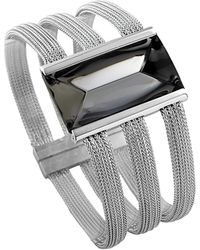Baccarat | So Insomnight Silver Crystal Bracelet | Lyst