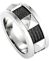 Charriol - Stainless Steel Ring - Lyst