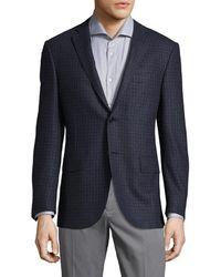 Corneliani - Striped Wool Sportcoat - Lyst