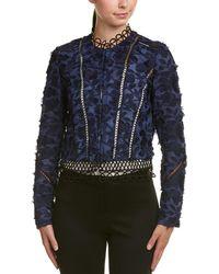 Elie Tahari - Linen Jacket - Lyst