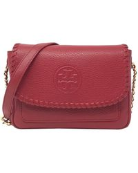 Tory Burch - Marion Mini Leather Bag - Lyst