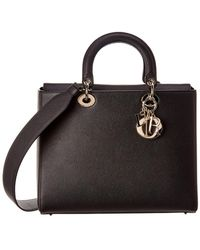 Dior Lady Leather Tote