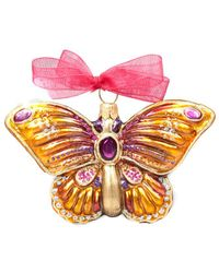 Jay Strongwater - Butterfly Ornament - Lyst