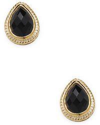 Anna Beck - Jewelry Teardrop Pave Earrings - Lyst