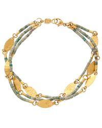 Gurhan - Phoenician 24k Beaded Bracelet - Lyst