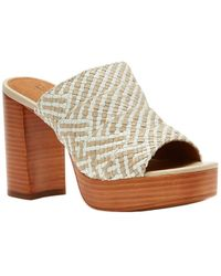 Frye - Katie Woven Leather Sandal - Lyst