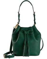 Gigi New York - Leather Jenn Bucket Bag - Lyst