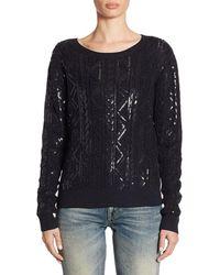 Ralph Lauren - Sequin Pullover - Lyst