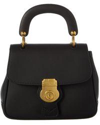 Burberry - Dk88 Leather Shoulder Bag - Lyst