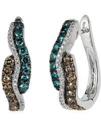 Le Vian - ® Exotics® 14k 0.92 Ct. Tw. Diamond Earrings - Lyst