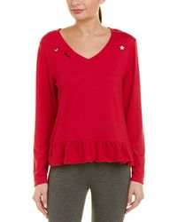 Betsey Johnson - Icons Ruffle Top - Lyst