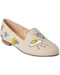 Jon Josef - Flying Saucer Linen Loafer - Lyst