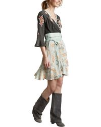 Odd Molly - Bell 3/4 Sleeve Printed Delicate Dress - Lyst