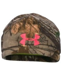 Under Armour - Women's Coldgear Infrared Scent Control Camo Beanie - Lyst