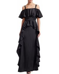Temperley London - Hippolyta Ruffle Maxi Dress - Lyst