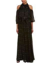Shoshanna - Silk-blend Gown - Lyst