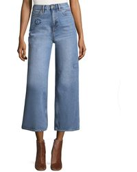 M.i.h Jeans - Caron Cotton Cropped Pant - Lyst