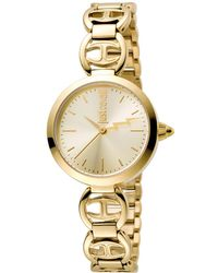 Just Cavalli - Women's Logo Macrame Watch - Lyst