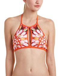 Robin Piccone - High Neck Bikini Top - Lyst