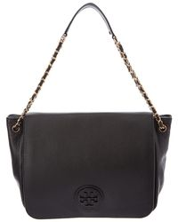 Tory Burch - Marion Flap Leather Shoulder Bag - Lyst