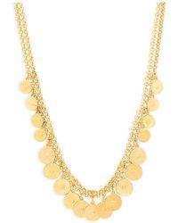 Ben-Amun - Gold-tone Coins Necklace - Lyst