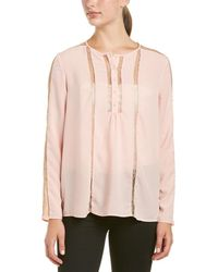 French Connection - Poly Plains Top - Lyst