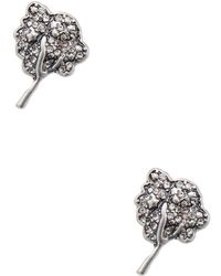 Marc By Marc Jacobs - Jewelry Crystal Tree Studs - Lyst