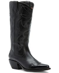 Frye - Shane Embroidered Tall Leather Boot - Lyst