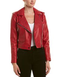 Walter Baker - Studded Leather Jacket - Lyst