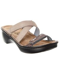 Naot - Quito Leather Sandal - Lyst