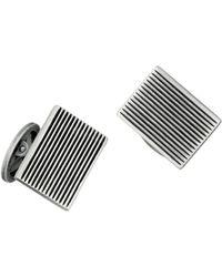 Jan Leslie - Rectangular Fine Line Cufflinks - Lyst