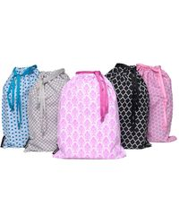 Melissa Beth - Set Of 5 Drawstring Bags - Lyst