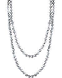 Splendid - 9-10mm Freshwater Pearl 60in Necklace - Lyst