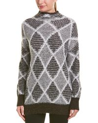 4dc34c627 Boohoo Sophie Ruffle Sleeve Fine Knit Jumper - Lyst