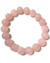 Charlene K - Rose Quartz Bracelet - Lyst