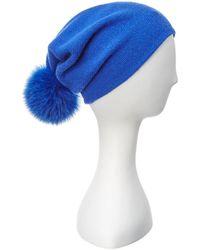 La Fiorentina - Wool & Cashmere Beanie - Lyst