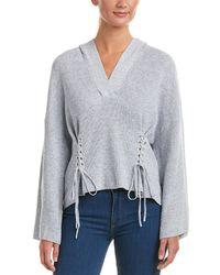 BCBGMAXAZRIA - Hooded Pullover - Lyst