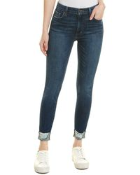 Joe's Jeans Sandy High-rise Skinny Crop - Blue