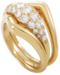Heritage Van Cleef & Arpels - Van Cleef & Arpels 18k 0.96 Ct. Tw. Diamond Set Of 3 Rings - Lyst
