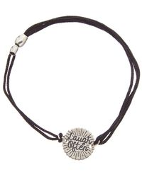 ALEX AND ANI - Silver Laugh Often Cord Bracelet - Lyst