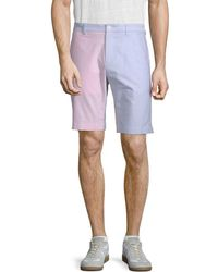 Brooks Brothers - Colorblocked Oxford Short - Lyst