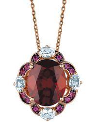 Le Vian - ? 14k Rose Gold 5.97 Ct. Tw. Gemstone Necklace - Lyst